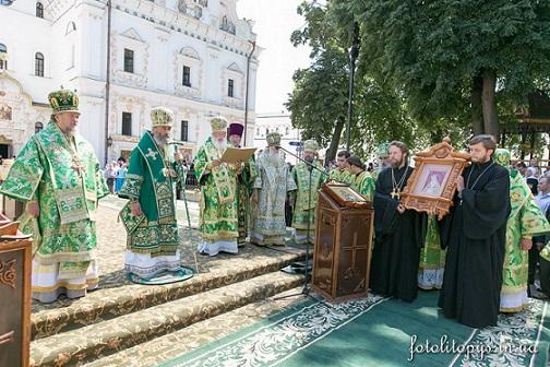 день тезоименитства Предстоятеля УПЦ митрополита Онуфрия 6