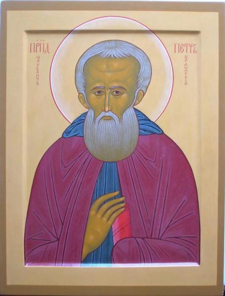 Преподобный Петр Ордынский, Ростовский, царевич