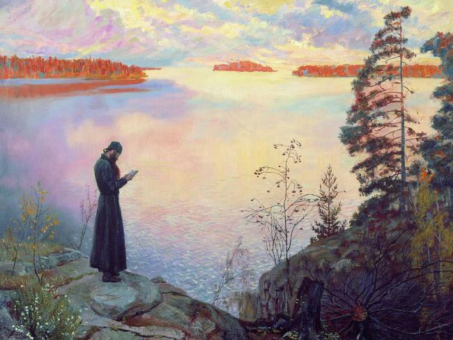 молитва_монаха