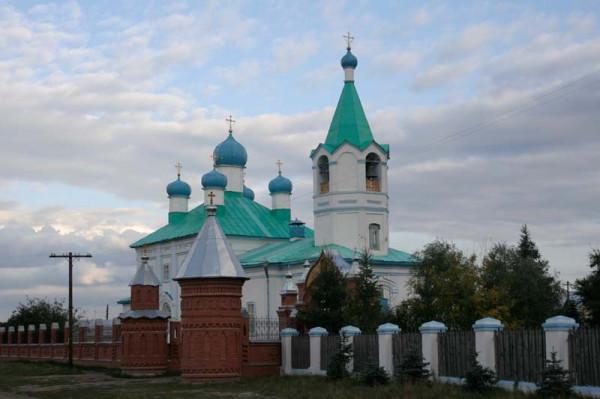 Свято-Никольский храм село Боровское, Курганская область