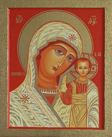 Икона Богородицы Казанская (Богородско-Уфимская)
