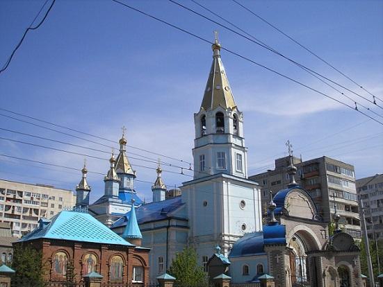 Церковь Богородско-Уфимской иконы Божией Матери - Уфа