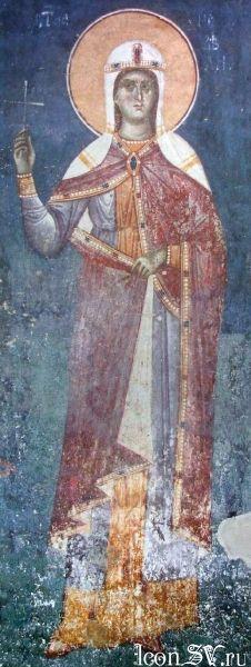 Мученица Кириакия Никомидийская