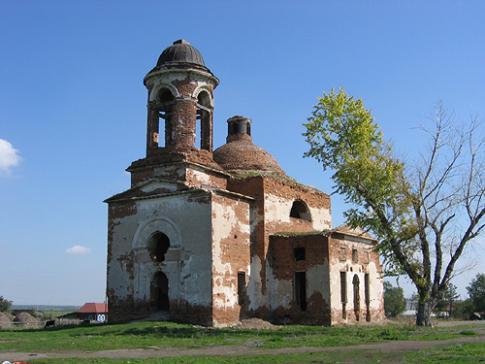 Введенский храм в Троянском, разорен в годы лихолетия