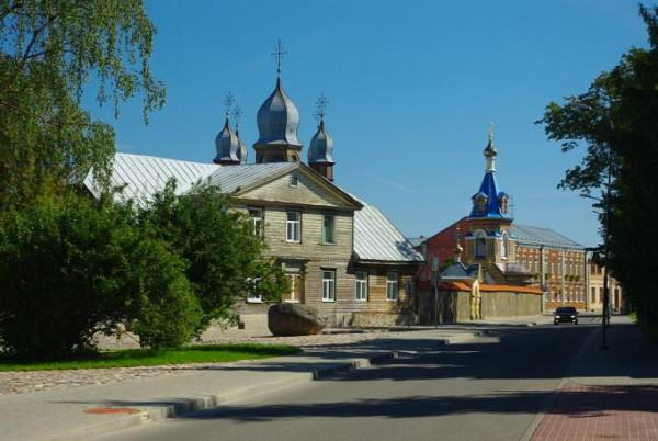 Екабпилсский Свято-Духов мужской монастырь - г. Екабпилс - Латвия