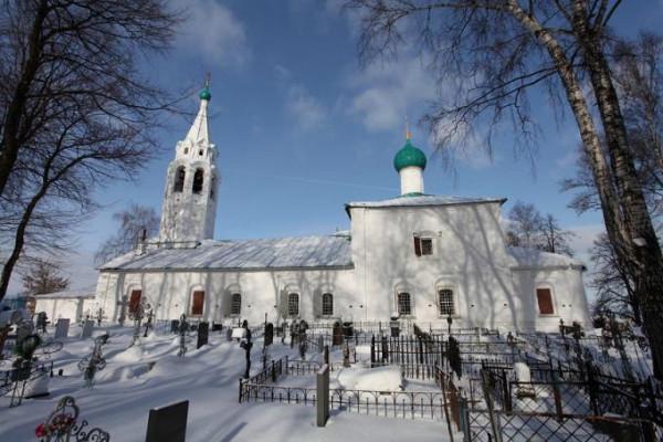 Церковь Параскевы Пятницы на Туговой Горе - Ярославль