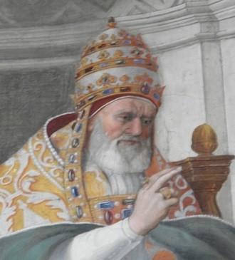 Григорий IX (лат. Gregorius PP. IX, в миру — Уголино деи Конти де Сеньи, 178-й папа римский (19 марта 1227 — 22 августа 1241)