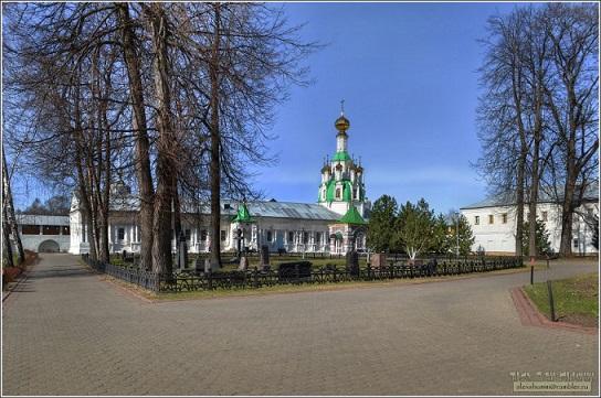 Введенский Толгский женский монастырь. Церковь Спаса Нерукотворного - Толга - г. Ярославль