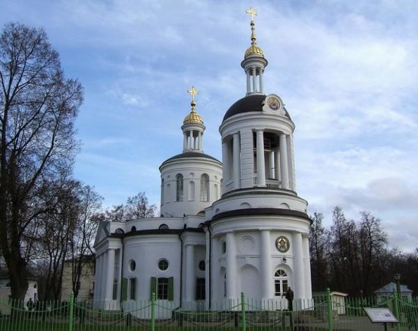 Церковь Влахернской иконы Божией Матери в Кузьминках