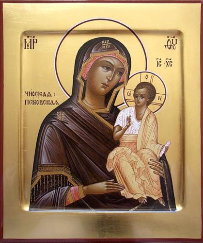Икона Богородицы Чирская Псковская