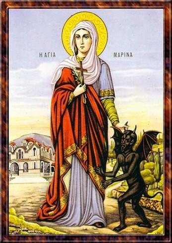 Великомученица Марина (Маргарита) Антиохийская 1