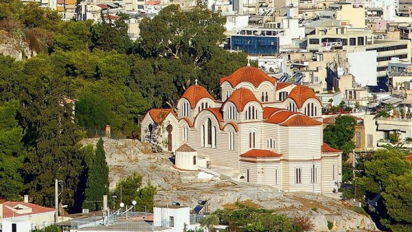 храм святой мученицы Марины, Афины 2
