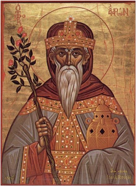 первосвященник Аарон († 1445 до Р.Х.)