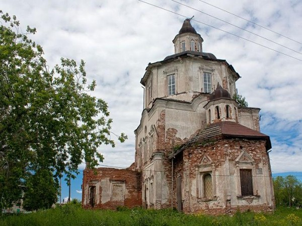 Церковь Вознесения Господня - Коптелово - Алапаевский район - Свердловская область, не действует