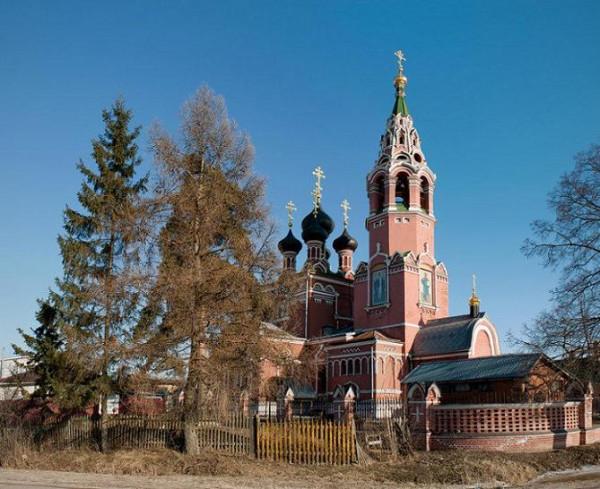 Церковь Успения Пресвятой Богородицы - Валищево - Подольский район