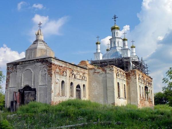 Церковь Николая Чудотворца - Шогринское - Артемовский район - Свердловская область, восстанавливается