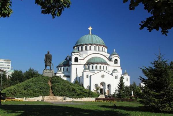 Собор святого Саввы, Белград, Сербия