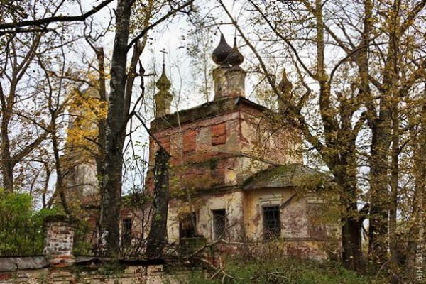 Церковь Георгия Победоносца - Обнорское - Любимский район - Ярославская область, не действует