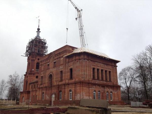 Свято-Лаврентьев монастырь - Калуга - г. Калуга, в наши дни восстанавливается