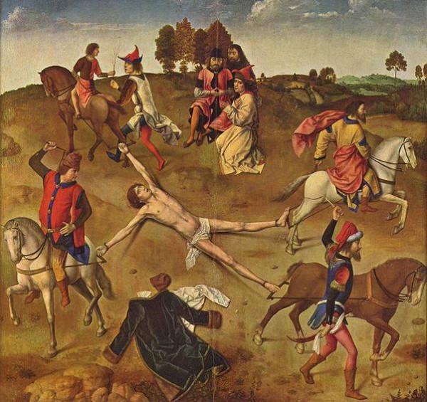 Дирк Боутс Старший, XV век, Мученичество святого Ипполита