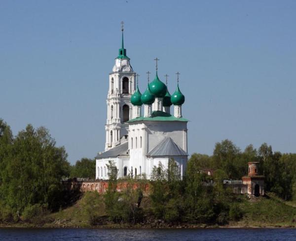 Церковь Троицы Живоначальной - Диево Городище - Некрасовский район - Ярославская область