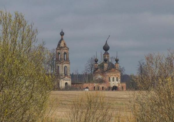 Церковь Сретения Господня - Резанино - Ярославский район - Ярославская область, не действует