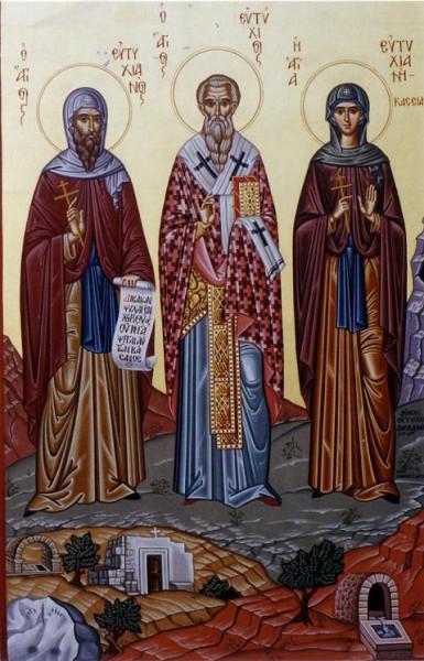 Священномученик Евтихий, ученик ап. Иоанна Богослова, епископ