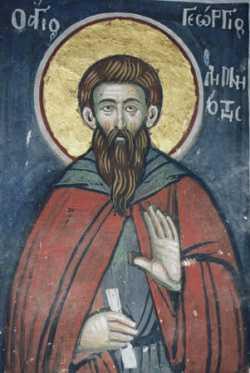 Преподобный Георгий Лимниот (Озерник)