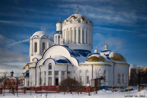 Церковь Собора Московских Святых в Бибиреве