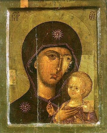 Икона Богородицы Петровская