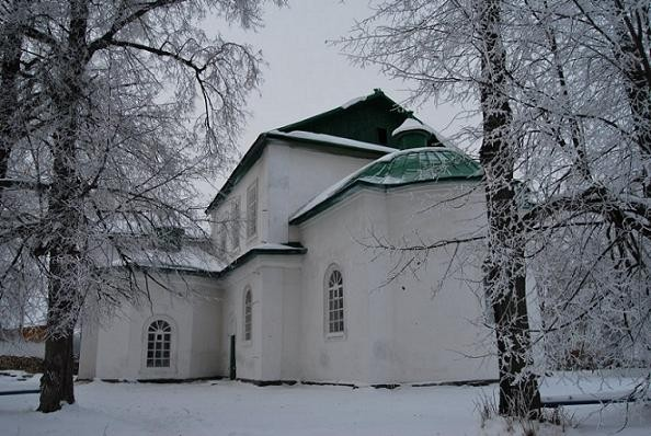 Церковь Сретения Господня - Мурзинка,  в 1938-м году сельская церковь была закрыта большевиками, сейчас в здании располагается музей