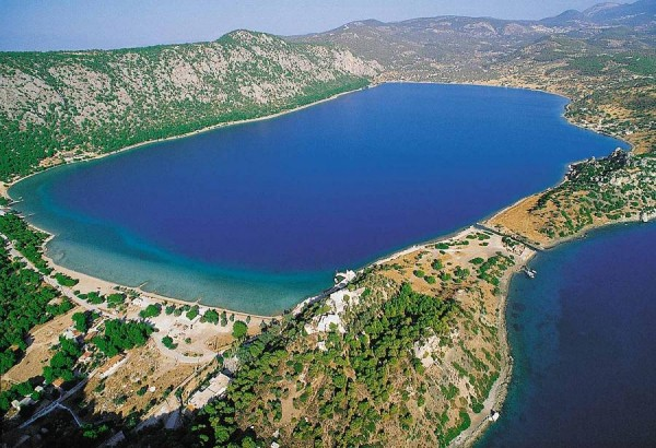 озеро вульягмени с воздуха