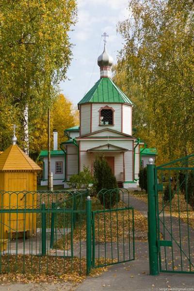 Церковь Параскевы Пятницы в Великодворье Гусь-Хрустального района
