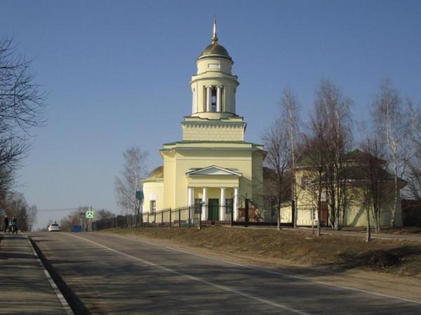 Церковь Троицы Живоначальной - Ершово - Одинцовский район, г. Звенигород - Московская область