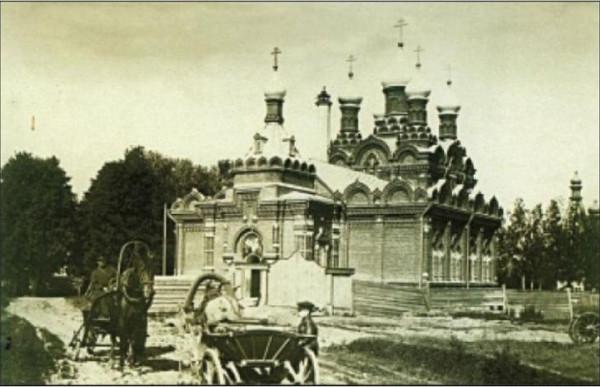 Казанский Женский Головинский монастырь, фото 1880 года.