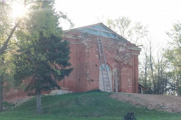 Церковь Вознесения Господня - Сторожа - г. Ефремов - Тульская область, не действует