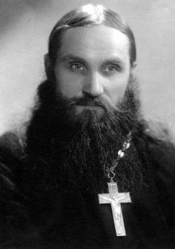 Отец Николай Гурьянов в молодости