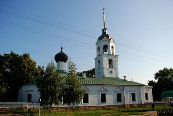 Церковь Николая Чудотворца - Талабск (остров им. Залита) - Псковский район