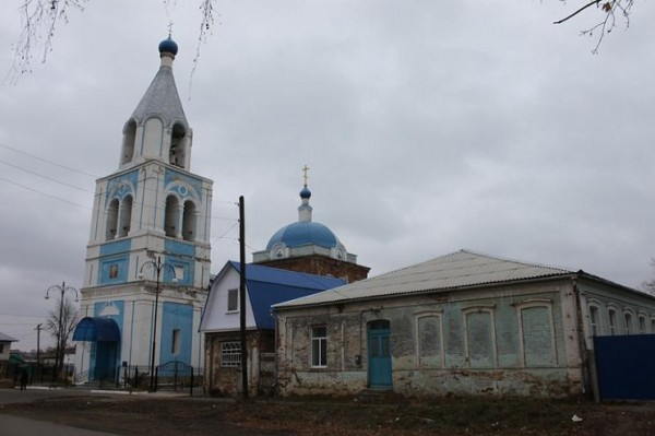 Церковь Смоленской иконы Божией Матери - Обоянь - Обоянский район - Курская область, восстанавливается