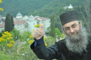 монах болгарского Зографского монастыря на Святой Горе Афон о. Пахомий (Желев) 1