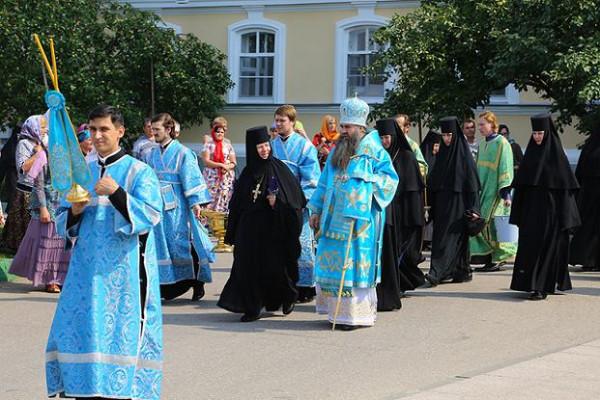 Крестный ход 10 августа дивеево митрополит Георгий