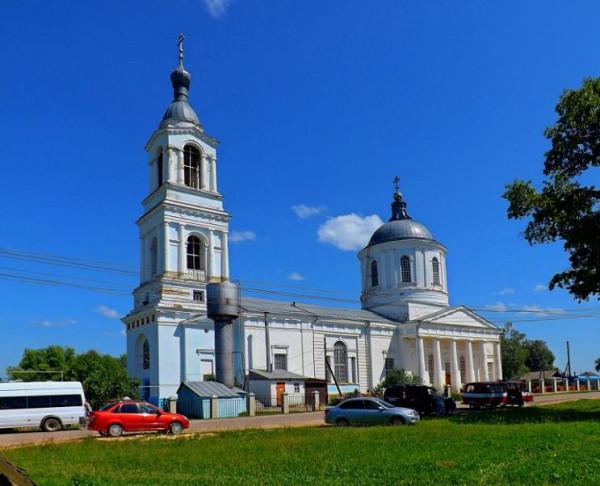 Церковь Успения Пресвятой Богородицы - Суворово - Дивеевский район и г. Саров - Нижегородская область