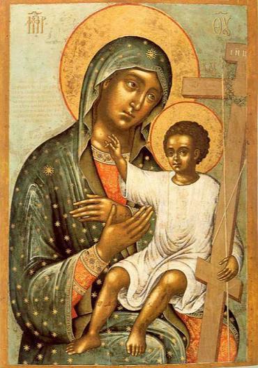 Икона Богородицы Новоникитская