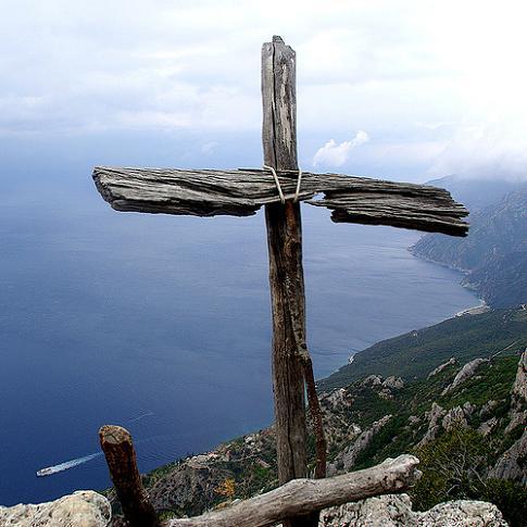 Афон. Крест