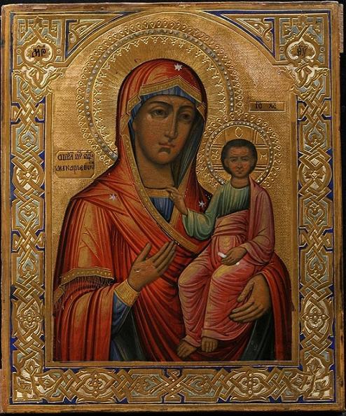 Икона Богородицы Макарьевская