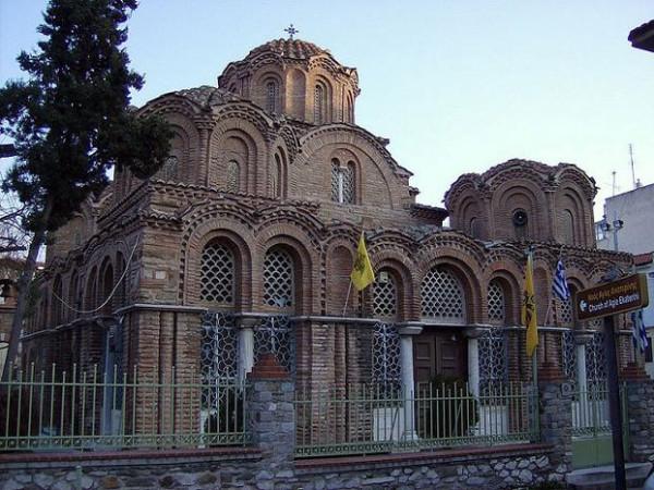 Храм Святой Екатерины. Салоники