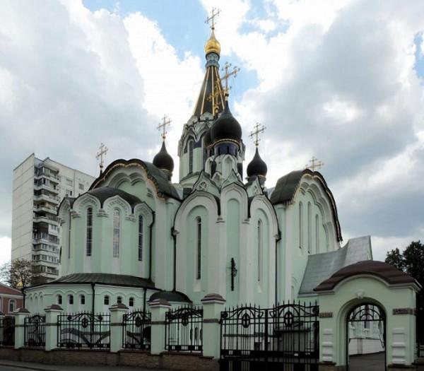 Церковь Воскресения Христова в Сокольниках, Москва