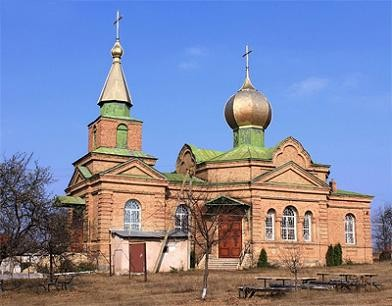 храм Воздвижения Креста Господня села Искровки, Кировоградская обл., Украина