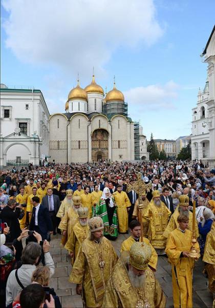 Крестный ход в Москве 6 сентября 2015 года 2