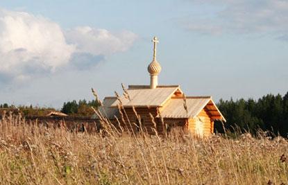 В 2009 году освящен новый деревянный храм во имя преподобных Евфимия и Харитона Сянжемских, построен рядом со Спасо-Евфимьевым Сямженским монастырем